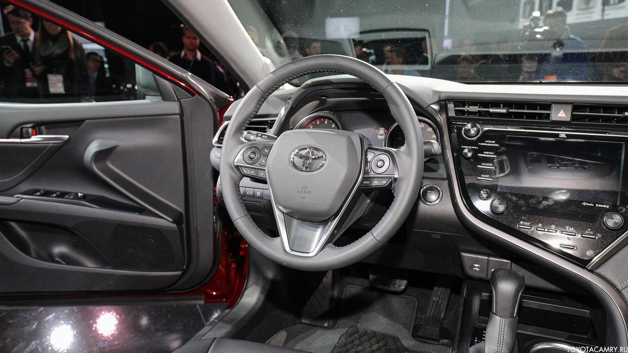 Toyota Camry 2018 мультируль