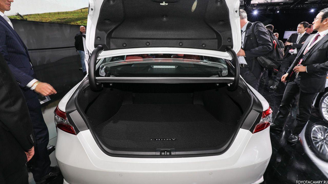 багажник Toyota Camry 2018