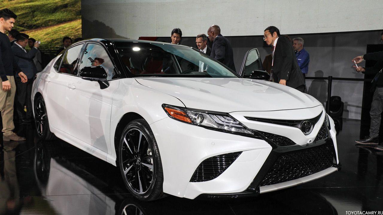 Toyota Camry 2018 спорт 3.5