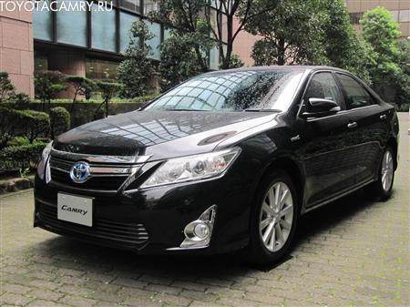 черный цвет Toyota Camry 2012 v50