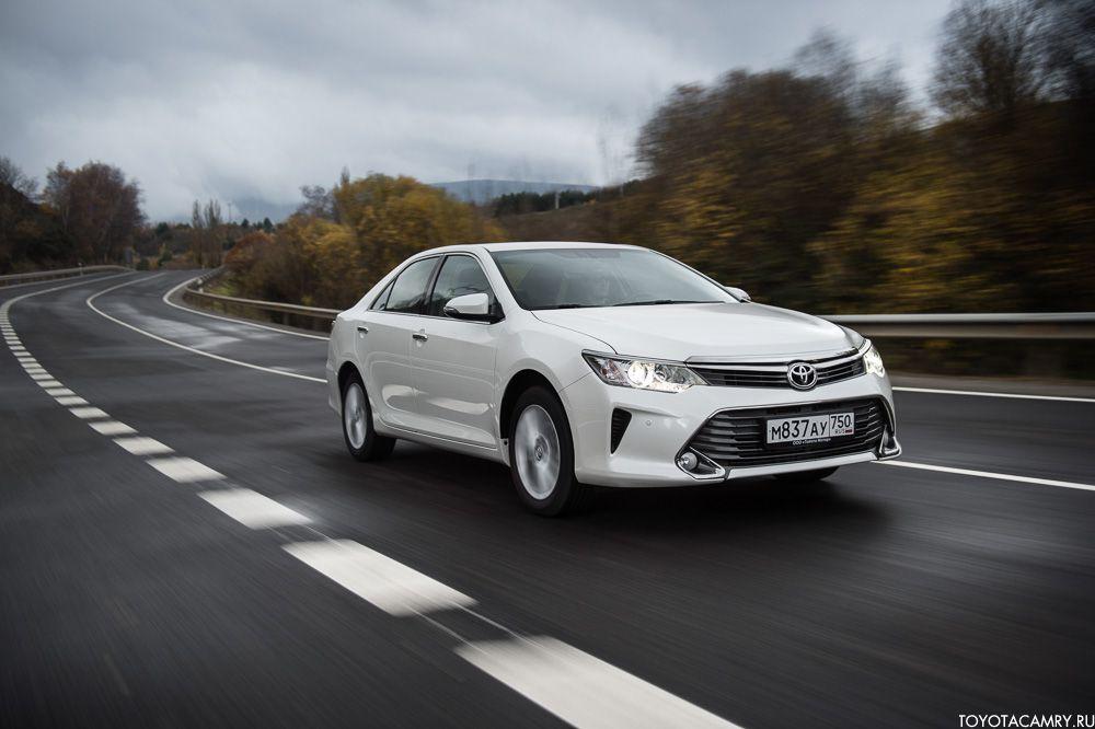 Рестайлинг Toyota Camry 2015 Россия