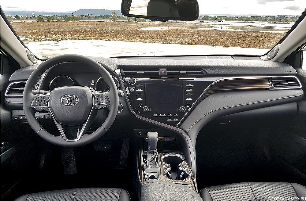 Комплектация Люкс Safety Toyota Camry 2018 v70