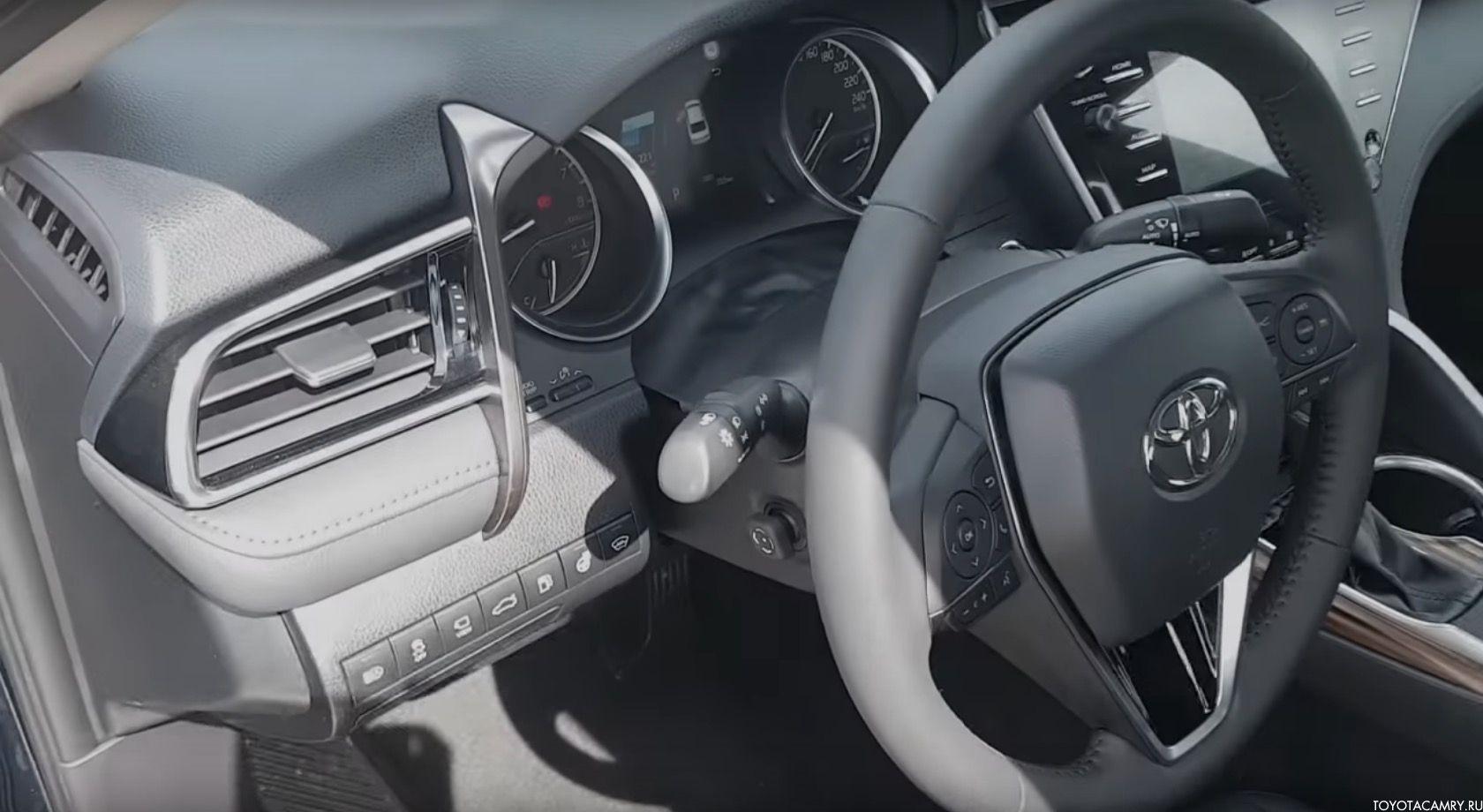рулевое колесо Камри 2018-2019 Россия (V70)